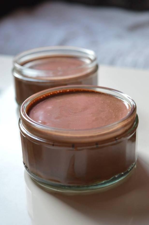 Petites mousses crémeuses au chocolat